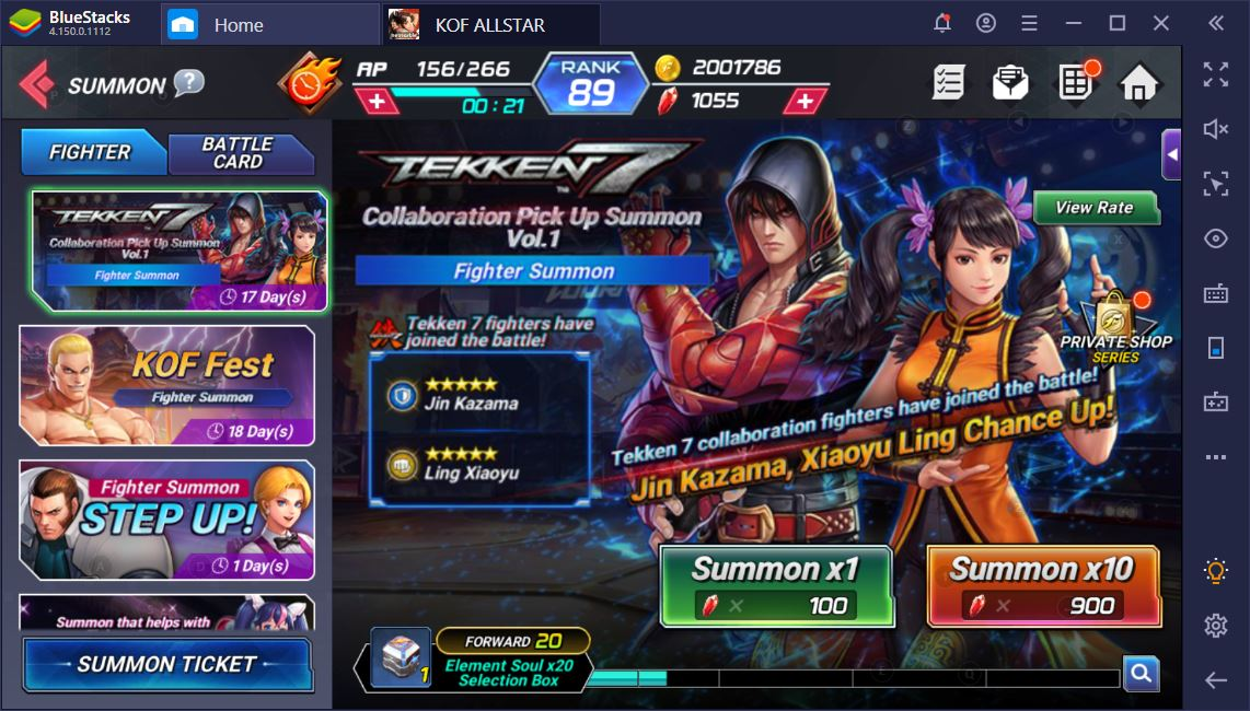 The Best Tekken 7 Brawlers In King Of Fighters Allstar Bluestacks