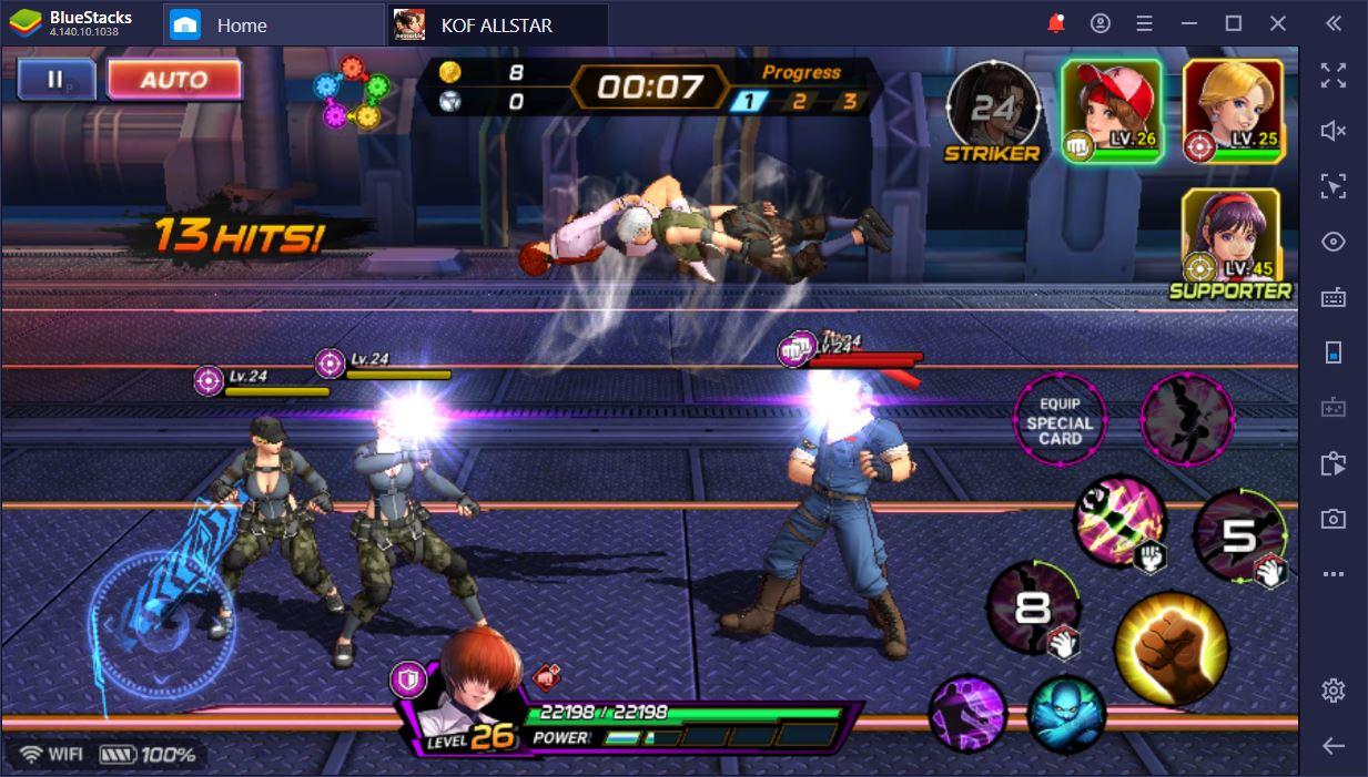 The King of The Fighters ALLSTAR Oyun İncelemesi: Bileğine Güvenen Böyle Gelsin!