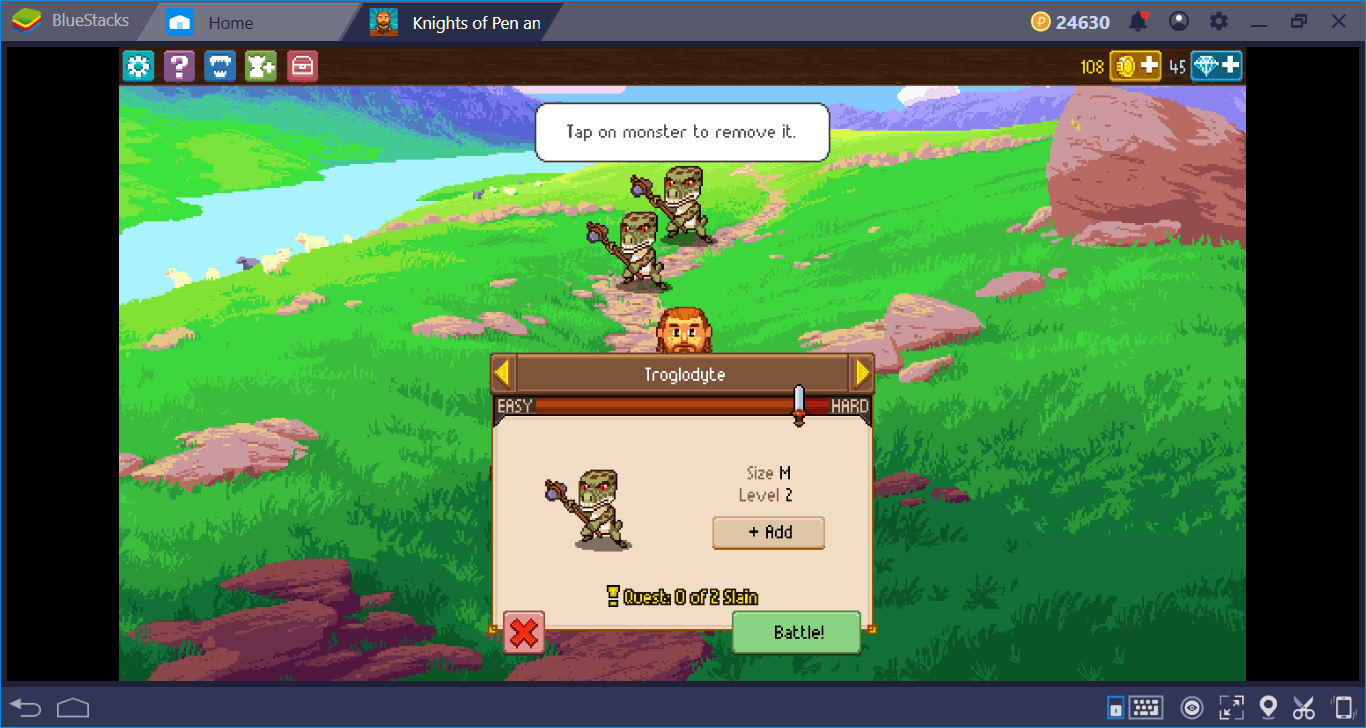 Let's Roll The Dice And Play Knights Of Pen & Paper 2 On BlueStacks
