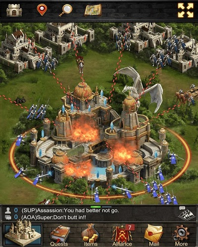 Играй Game of Kings:The Blood Throne На ПК 10