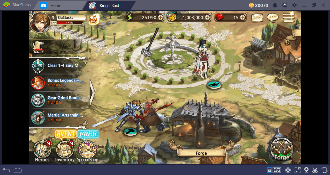 Let's Play King's Raid: The Gacha Game Without The Gacha Mechanics
