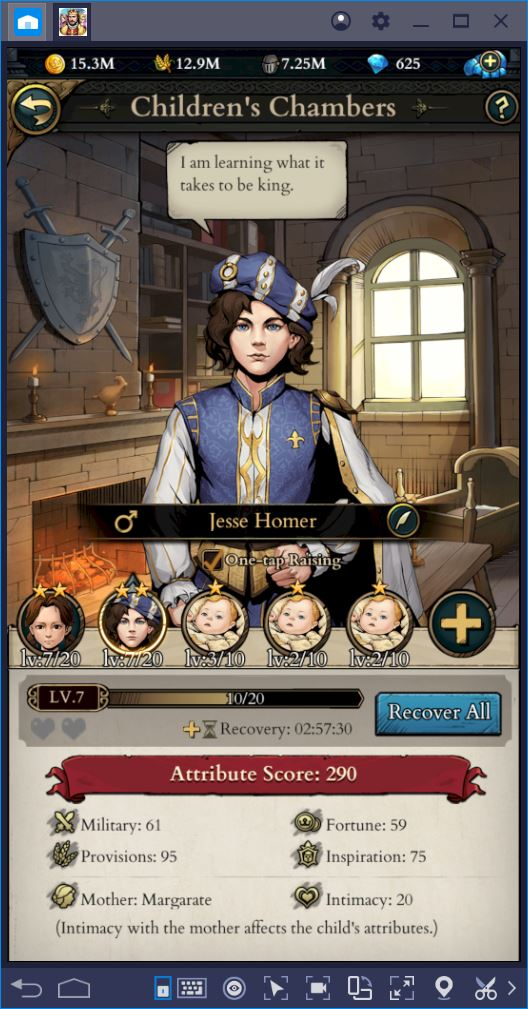 King's Throne: Game of Lust – How to Sire and Train the Most Powerful Princes