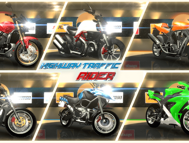 Играй Highway Traffic Rider На ПК 17