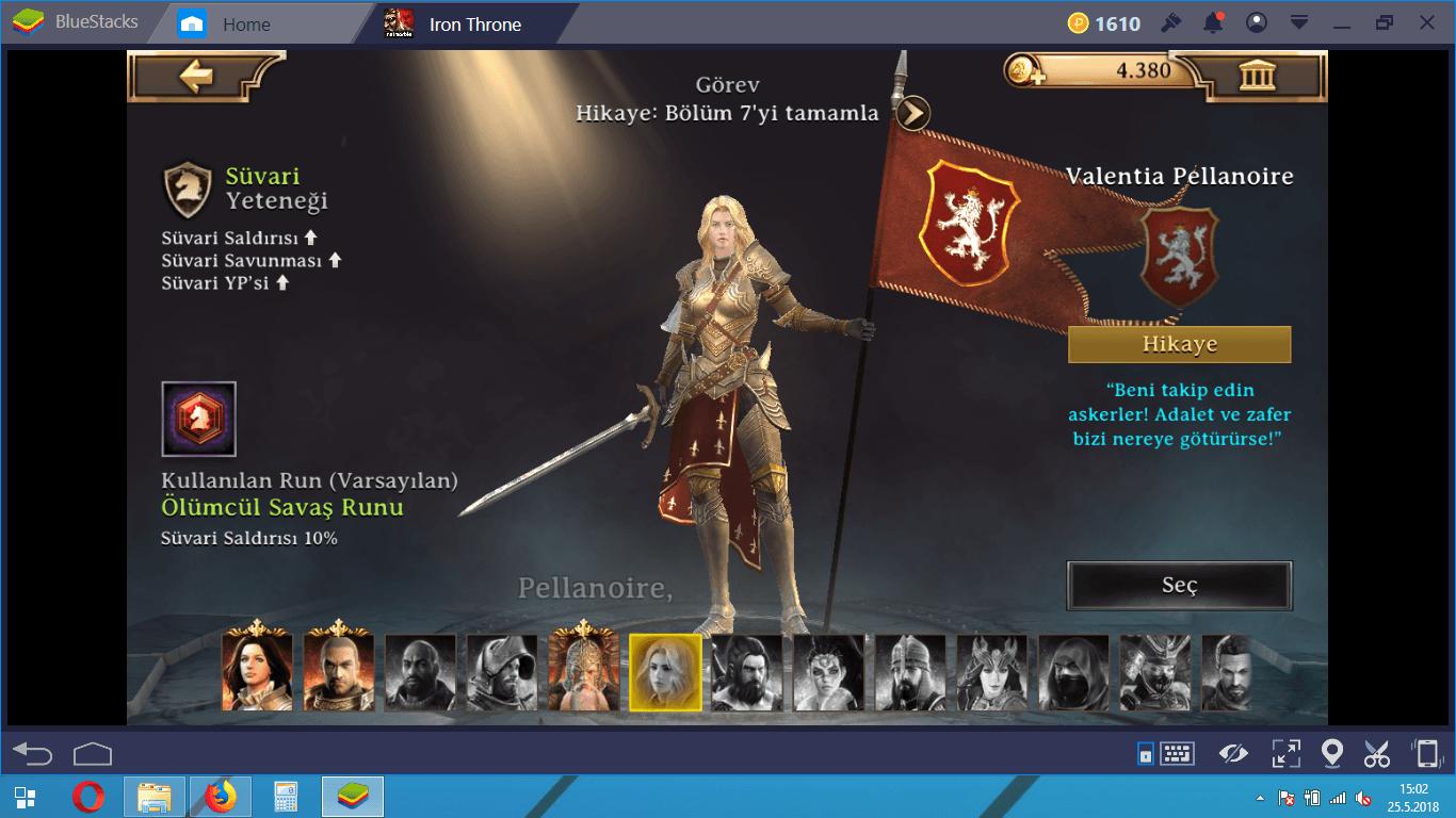 Yeni Başlayanlar İçin Iron Throne