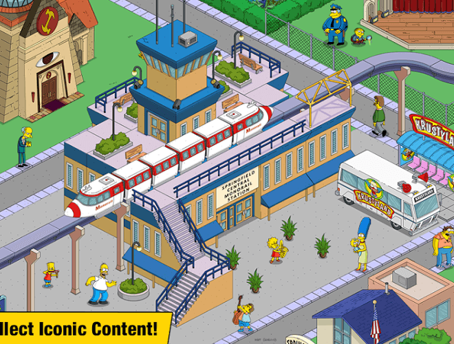 Spustit Simpsons Tapped Out on PC 4