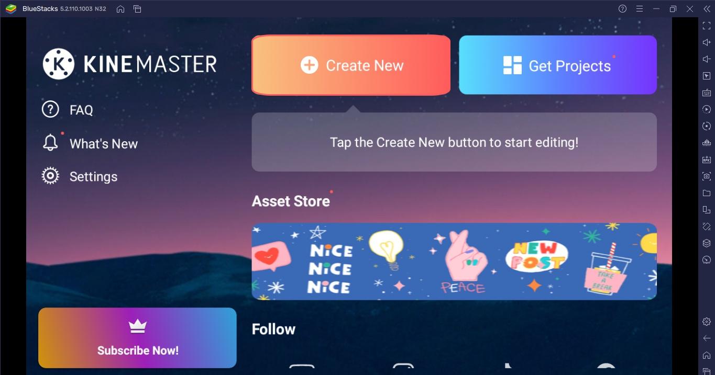 Cara Membuat Intro YouTube Dengan Menggunakan Kinemaster di PC!