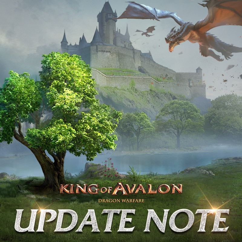 King of Avalon: Dragon Warfare – The 10.9 Update Brings New Events, Optimizations, Dragon Feeding Animations And More