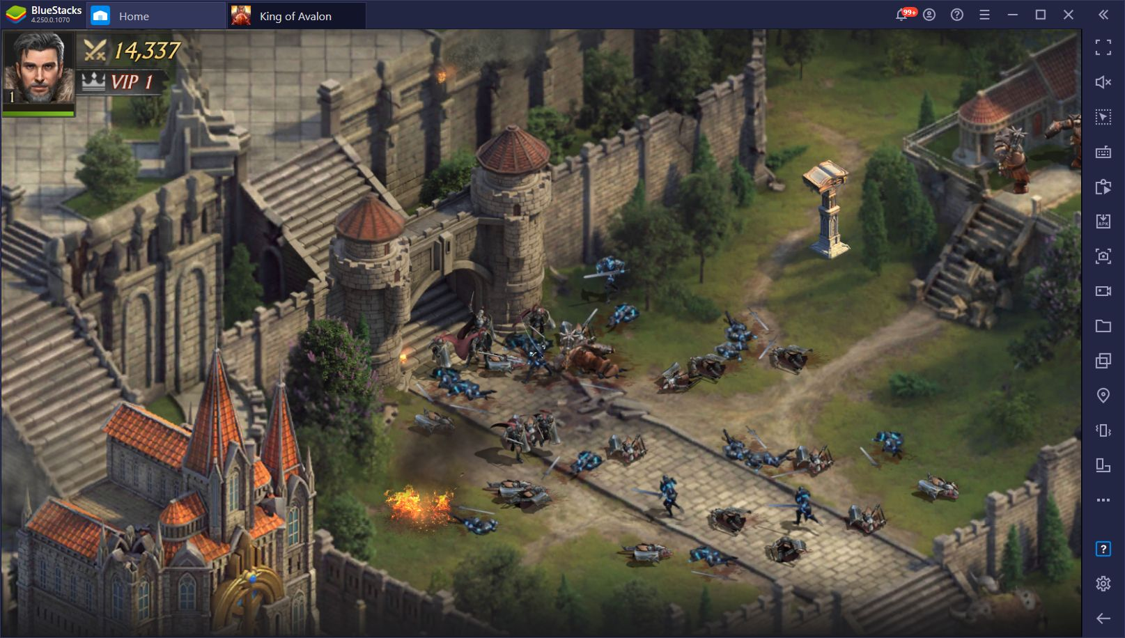 How to Play King of Avalon on PC with BlueStacks