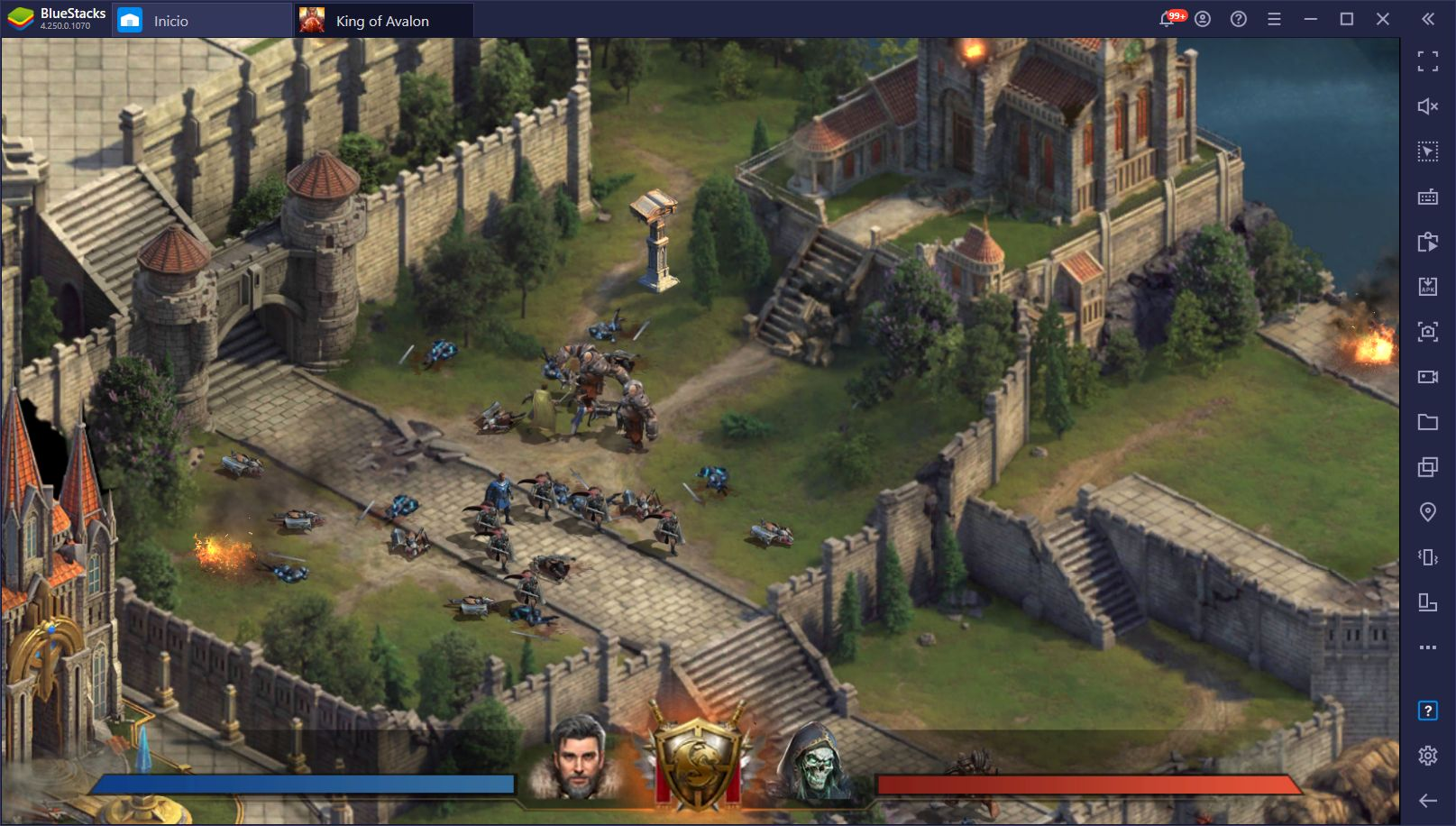 Cómo Jugar King of Avalon en PC con BlueStacks