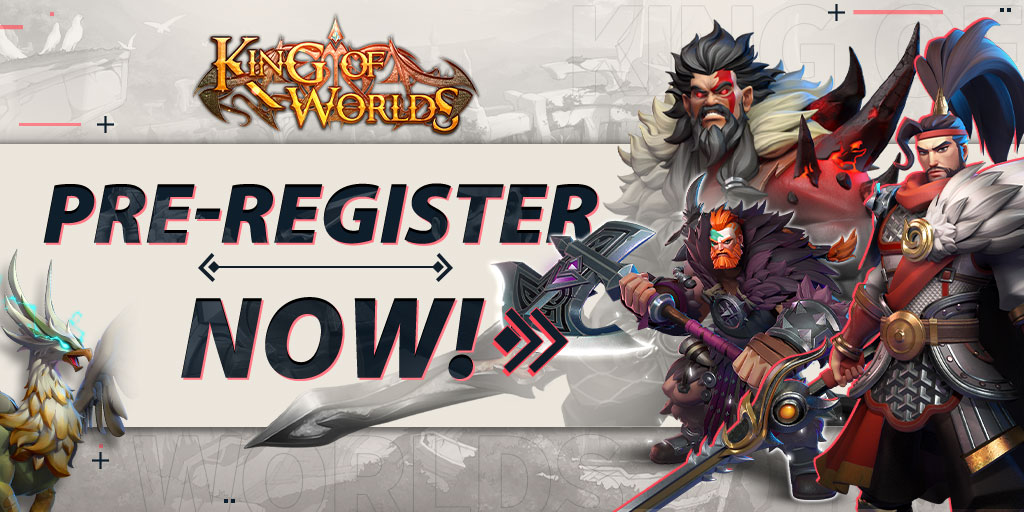 Pre-Registrations for the New 'King of Worlds' Are Currently Open in Anticipation of its Upcoming Release