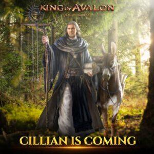 التحديث القادم من King of Avalon 11.7.0 يقدم بطلاً جديدًا ، Cillian