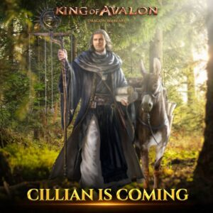 King of Avalon's upcoming patch 11.7.0 introduces a new hero, Cillian