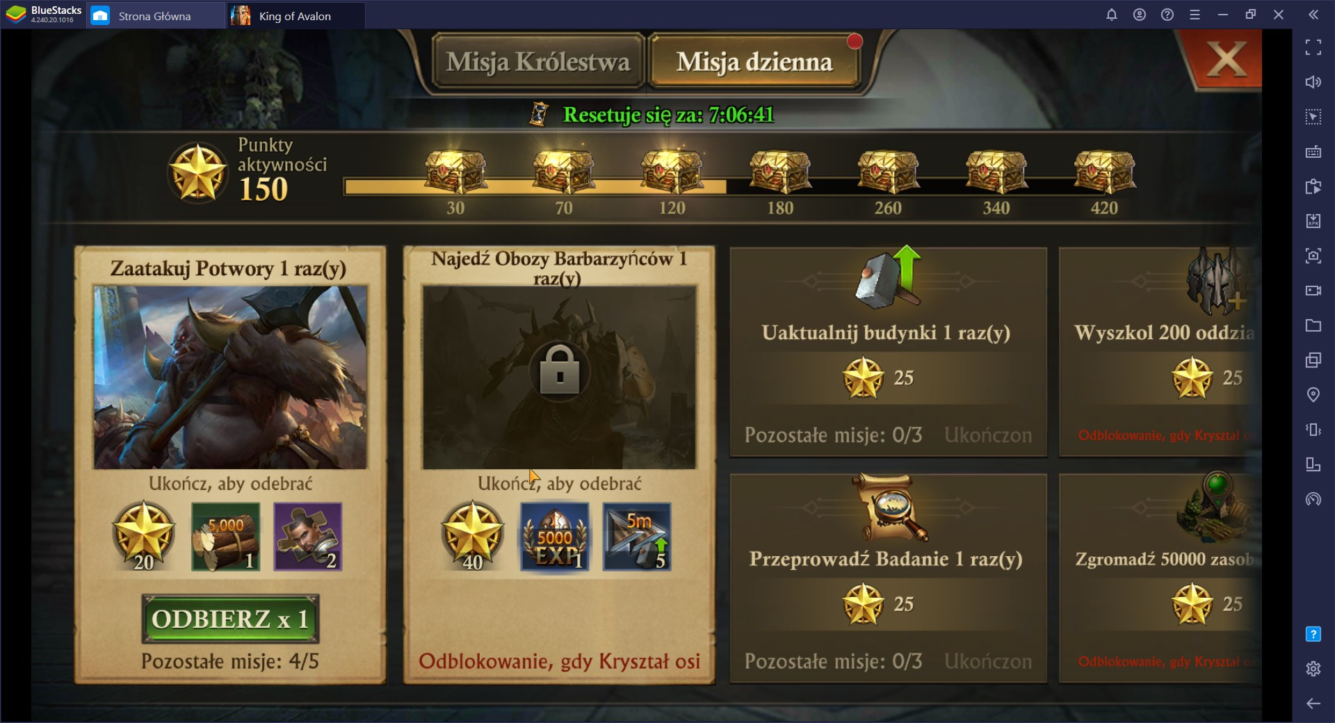King of Avalon na PC: Porady dla Zaawansowanych Graczy