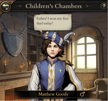 King's Throne: An Early Look at the Children and Raising Mechanic