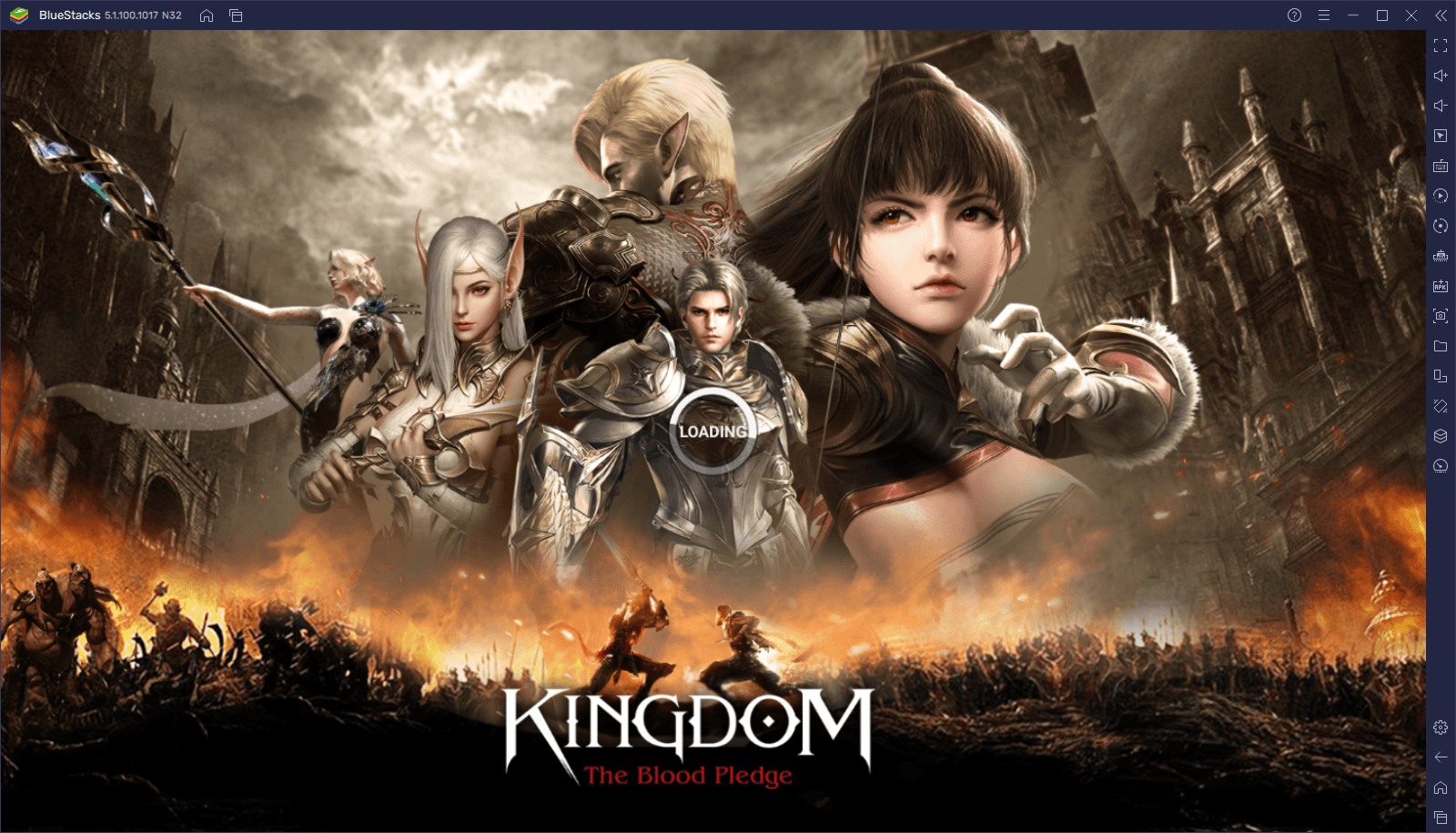 How to Download and Play Kingdom: The Blood Pledge on PC with BlueStacks