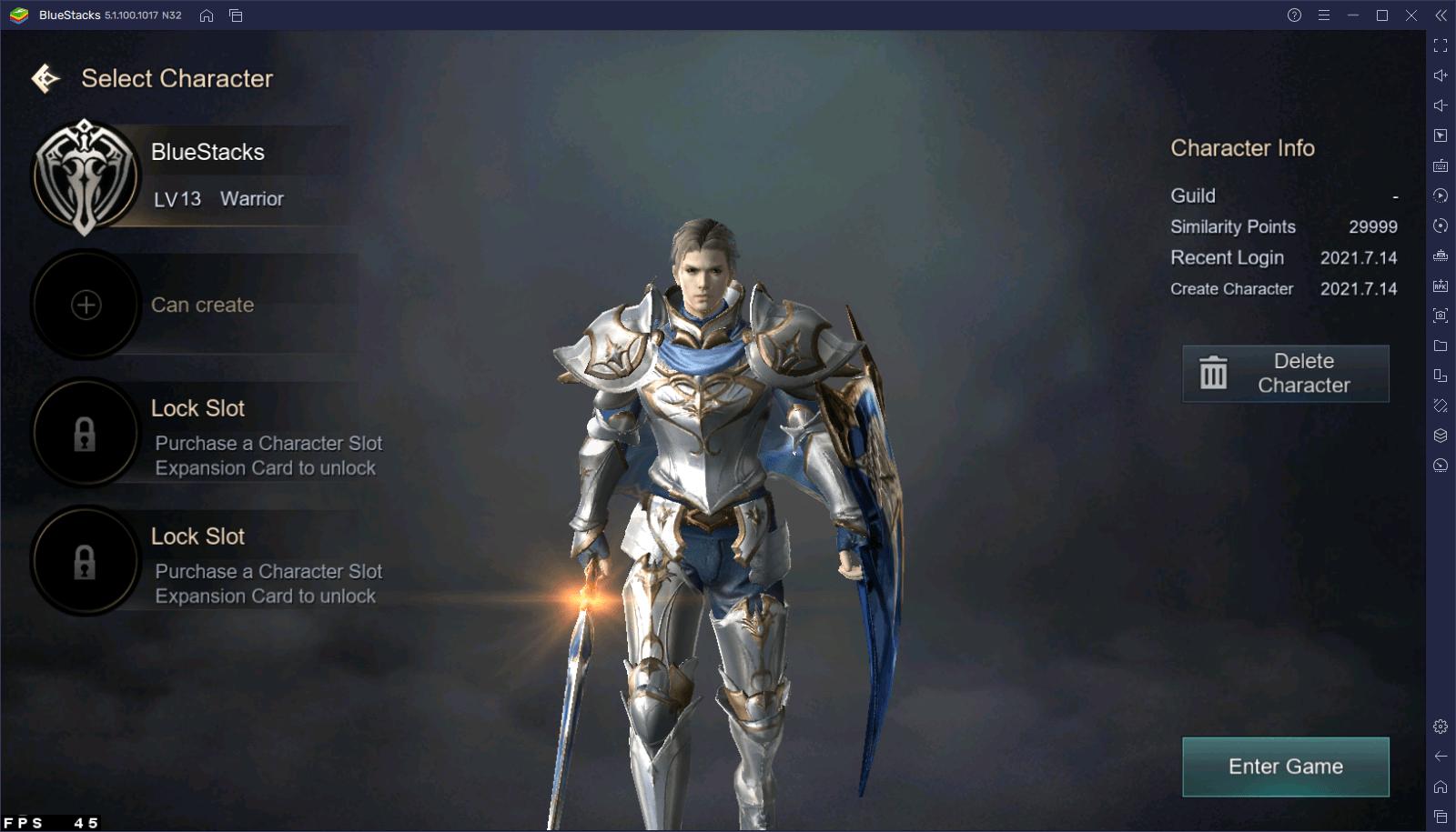 Как использовать инструменты BlueStacks для игры в Kingdom: The Blood Pledge?