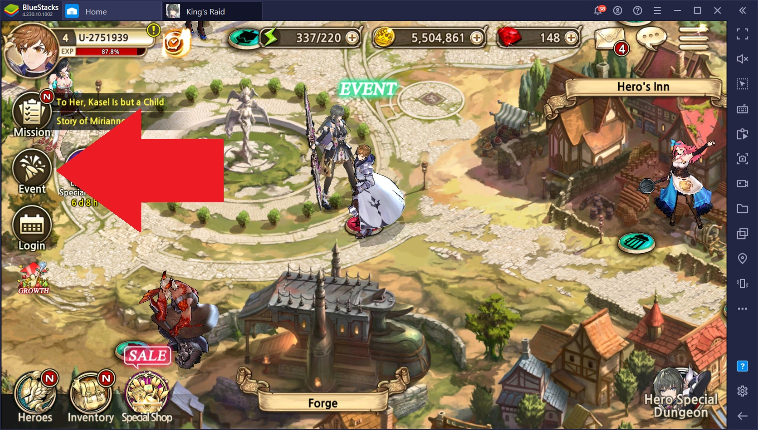 King's Raid X: Rebellion – Overview on all the Ongoing Events After August's Massive Update