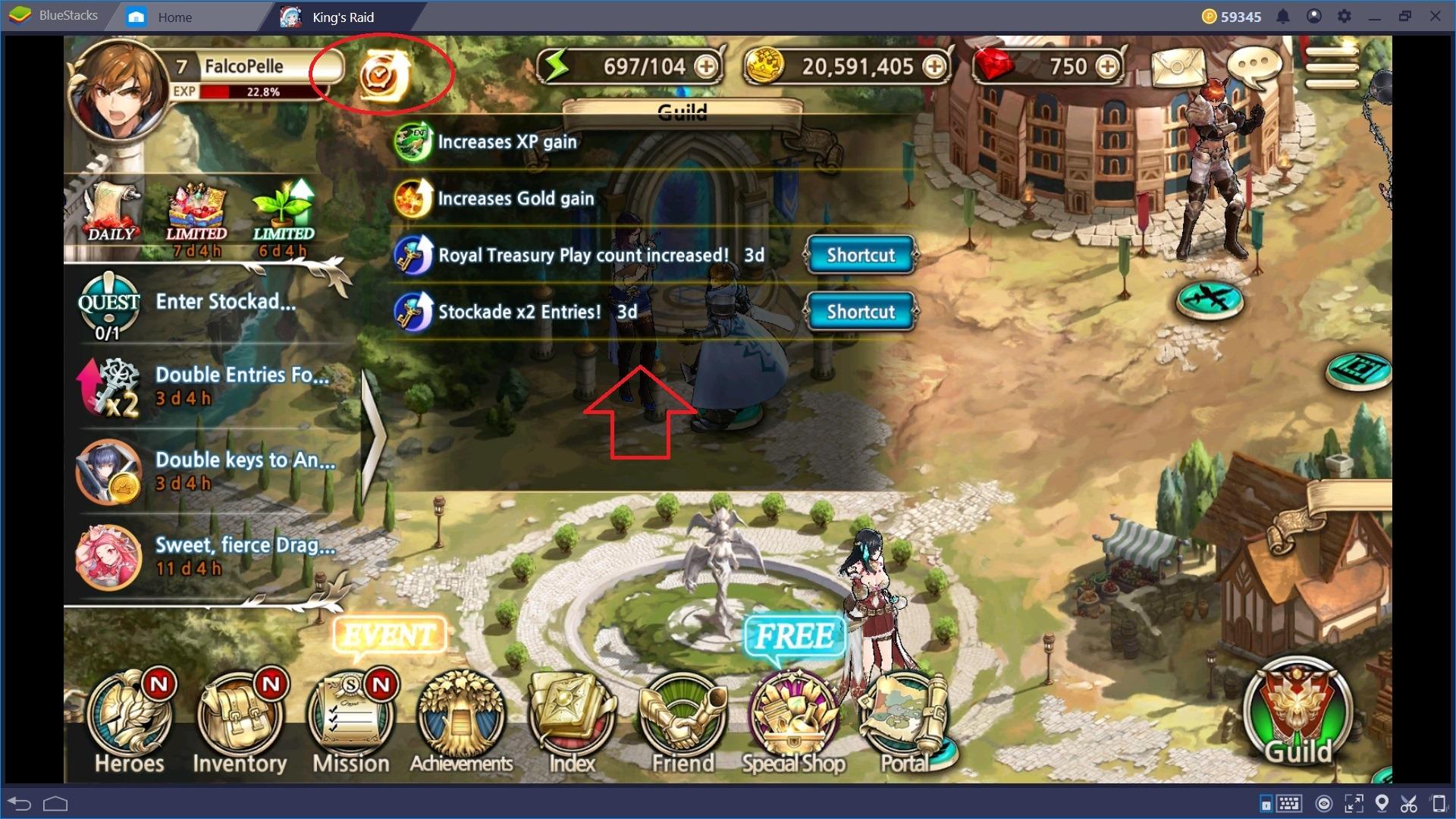 Trucchi e Consigli per King's Raid