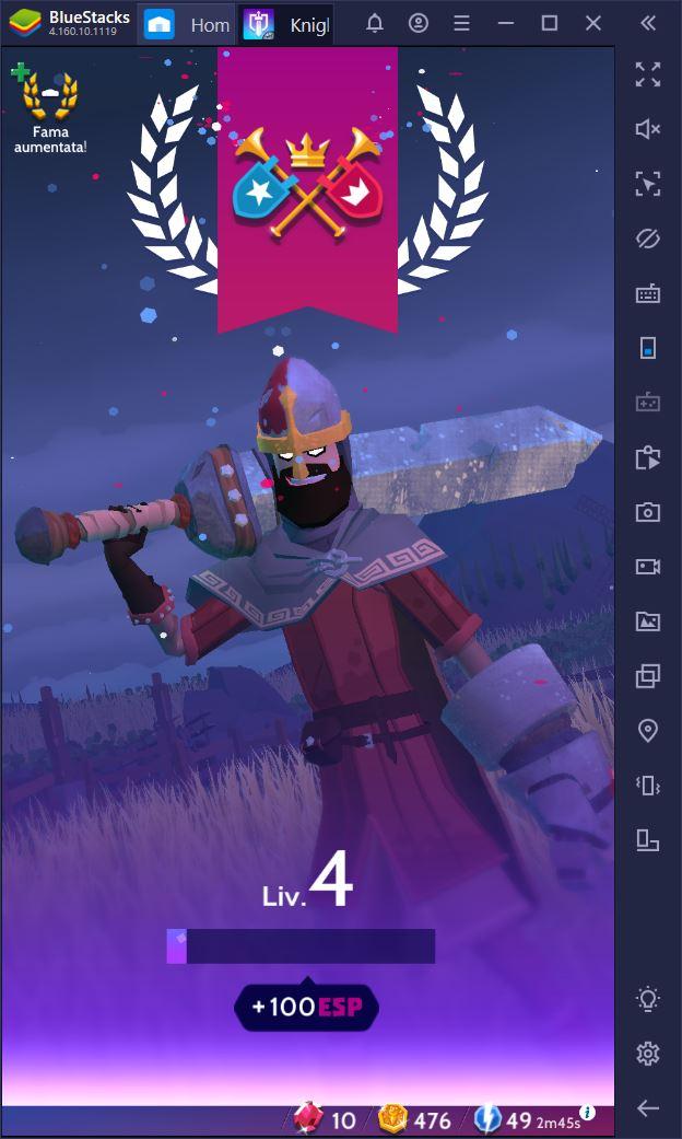 Introduzione a Knighthood, il nuovo RPG di King