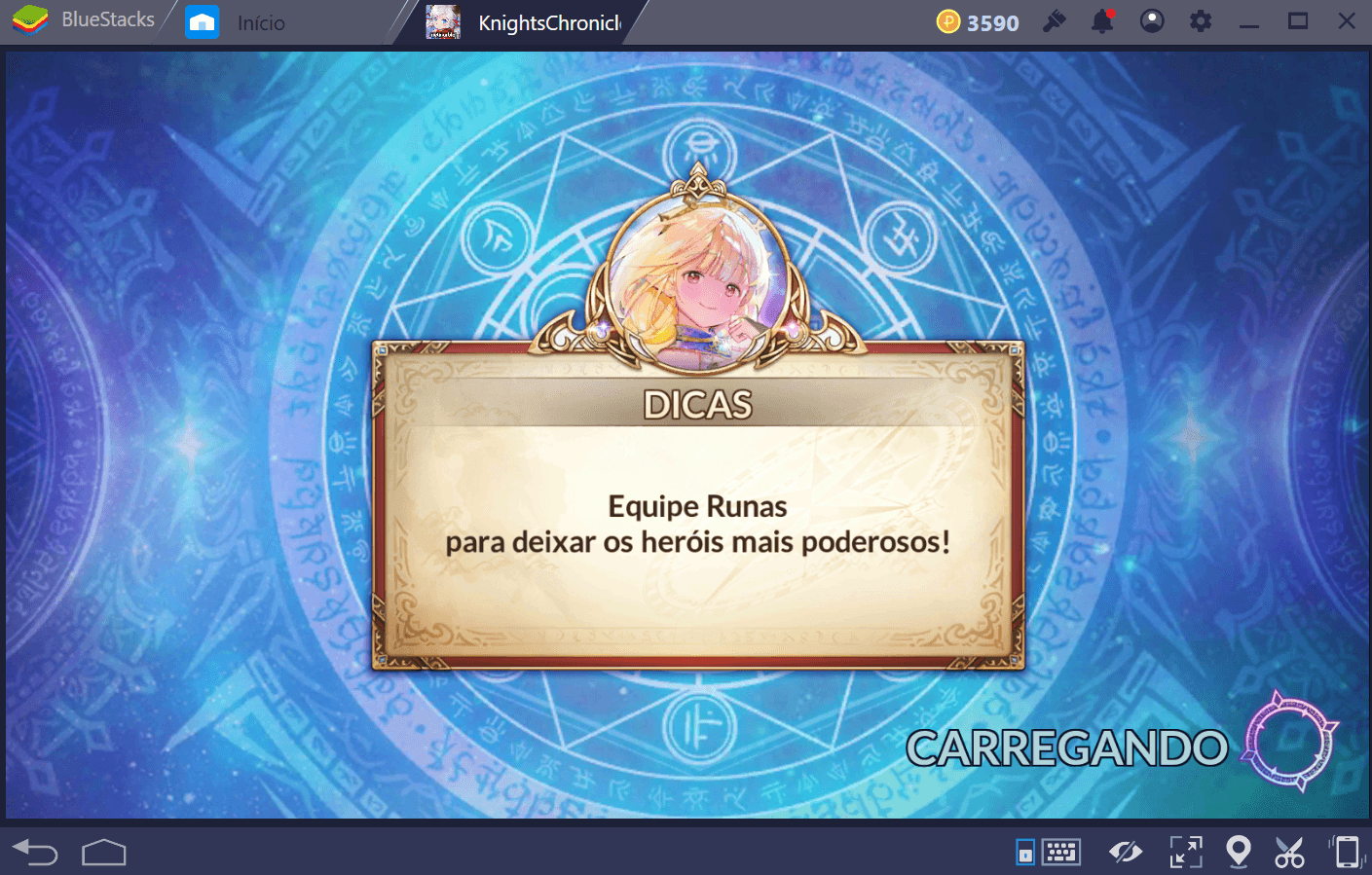Dicas para Knights Chronicle
