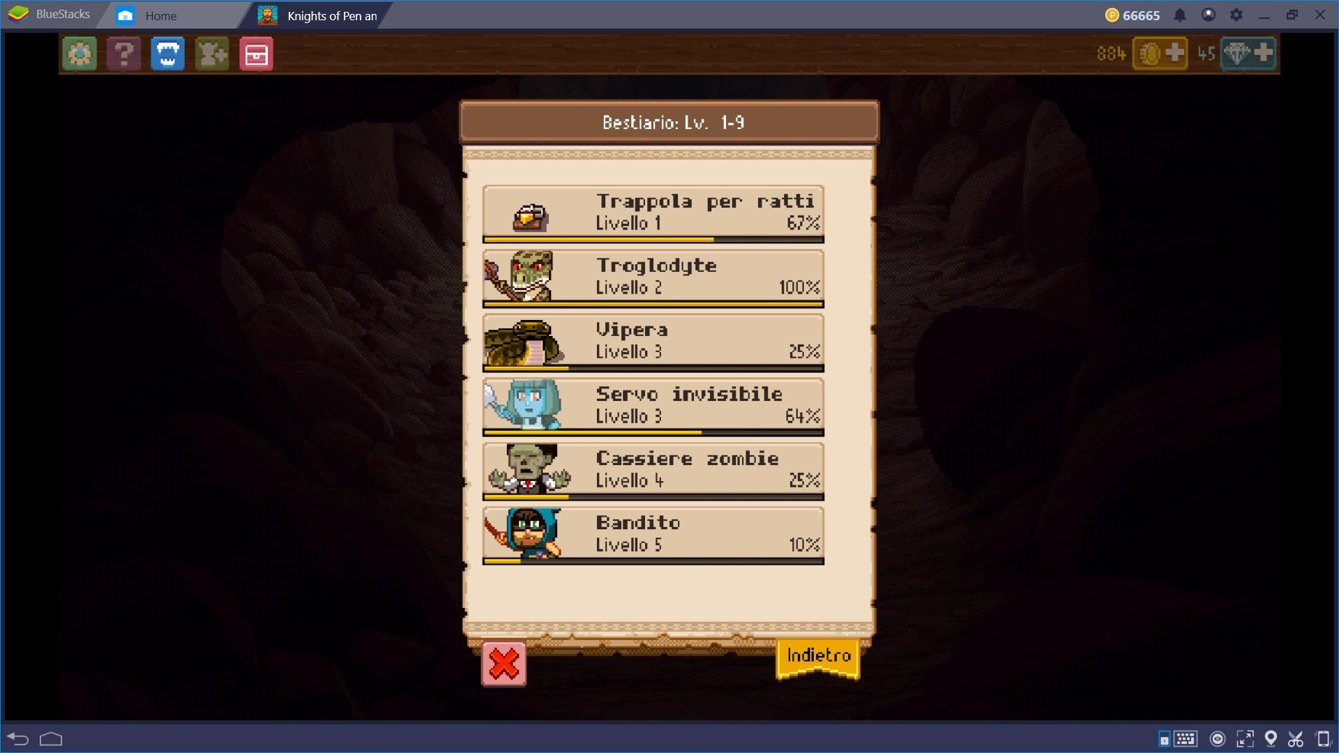Trucchi e Consigli per affrontare l'avventura di Knights of Pen & Paper 2