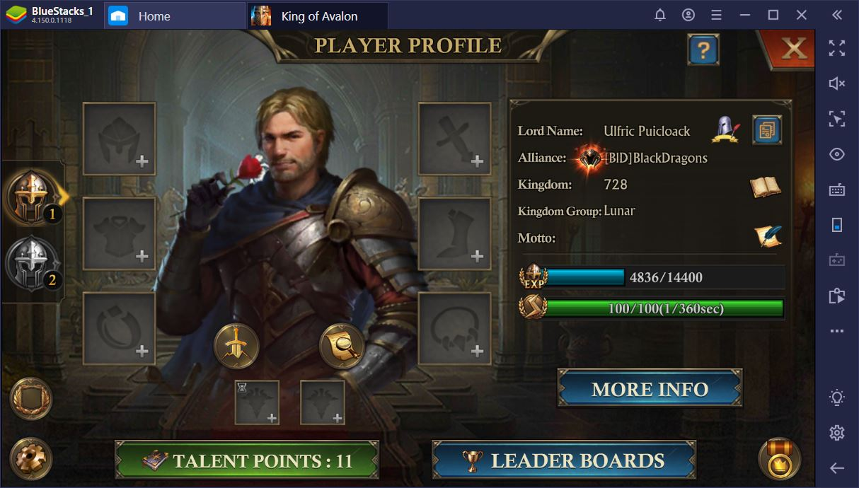 King of Avalon on PC: How to Become the God of Gold Events