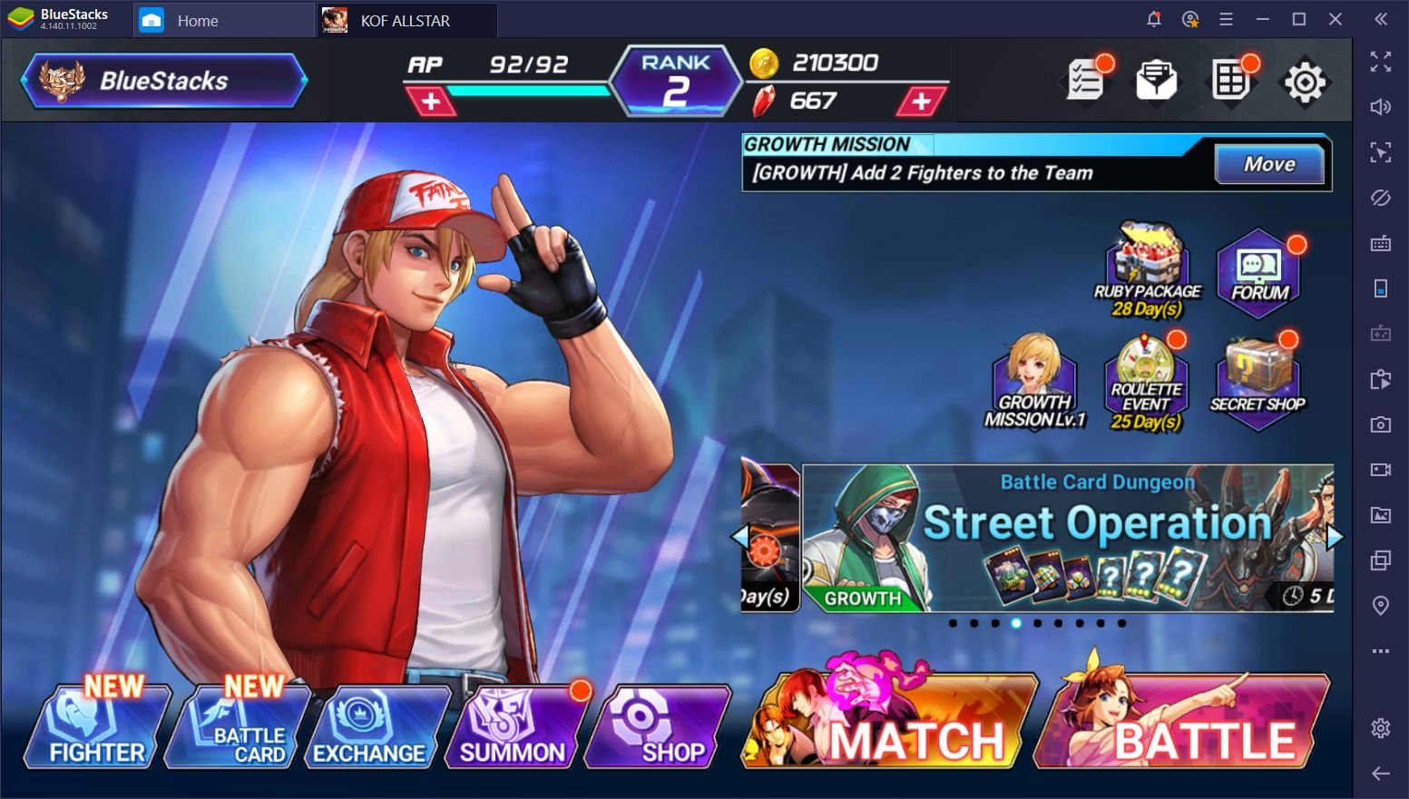 How to Play King of Fighters All Stars on Your PC Using BlueStacks