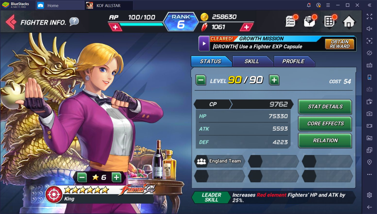 The Best Characters in King of Fighters ALLSTAR on PC