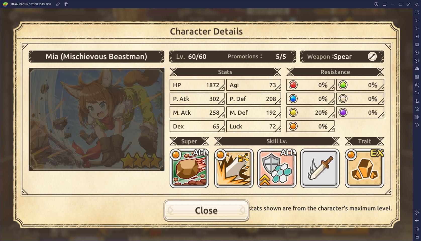 KonoSuba: Fantastic Days – قائمة المستوى مع أفضل الشخصيات في اللعبة