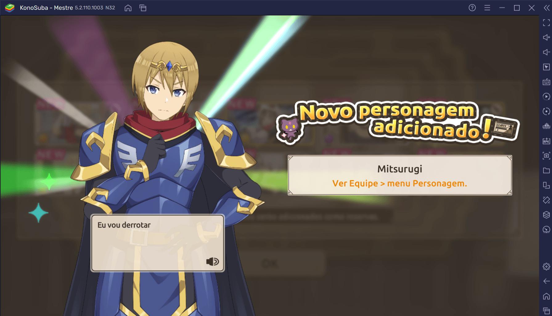 Faça Reroll em KonoSuba: Dias Fantásticos e comece o jogo com os melhores personagens