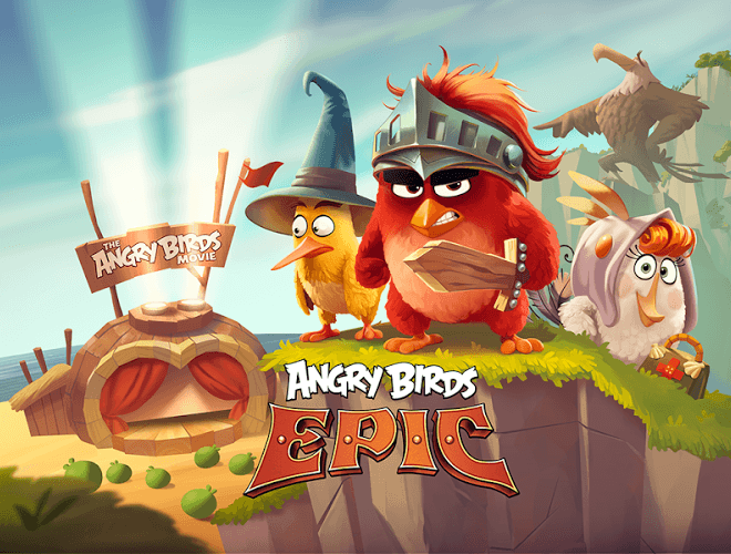 Speel Angry Birds Epic on pc 12