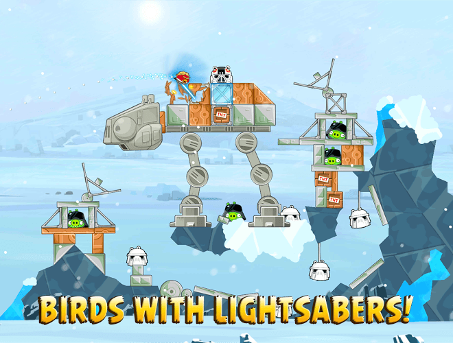 Play Angry Birds Star Wars on PC 8
