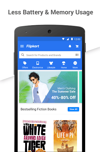Play Flipkart app on PC 3