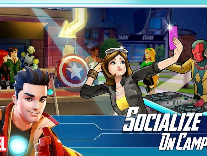 เล่น Marvel Avengers Academy on PC 6
