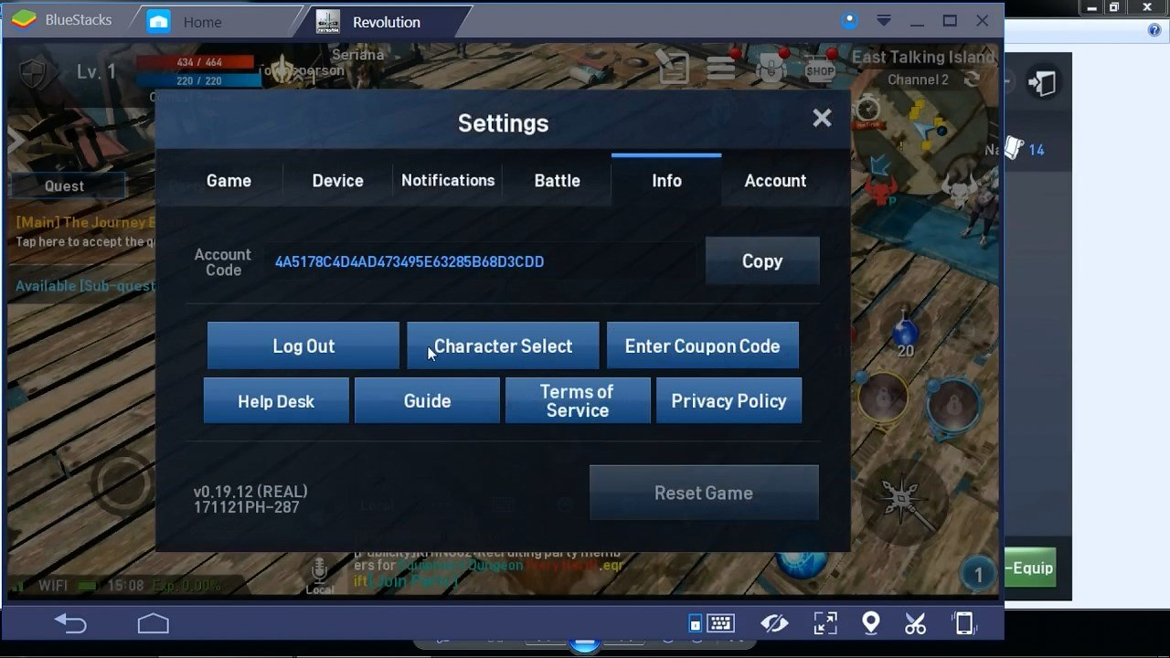 lineage 2 Revolution Settings Info