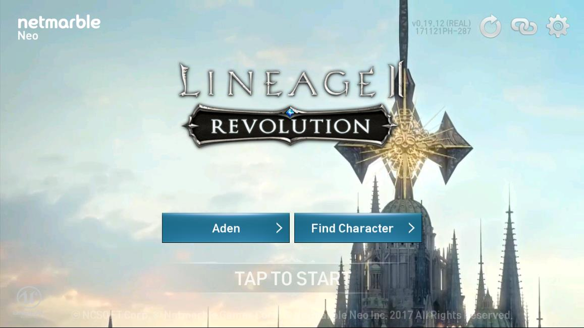 Lineage 2 Revolution Choose Server