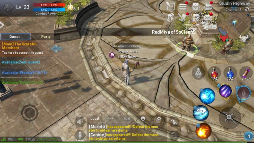 Lineage 2 Revolution Sample Screenshot