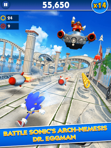 إلعب Sonic Dash on pc 7