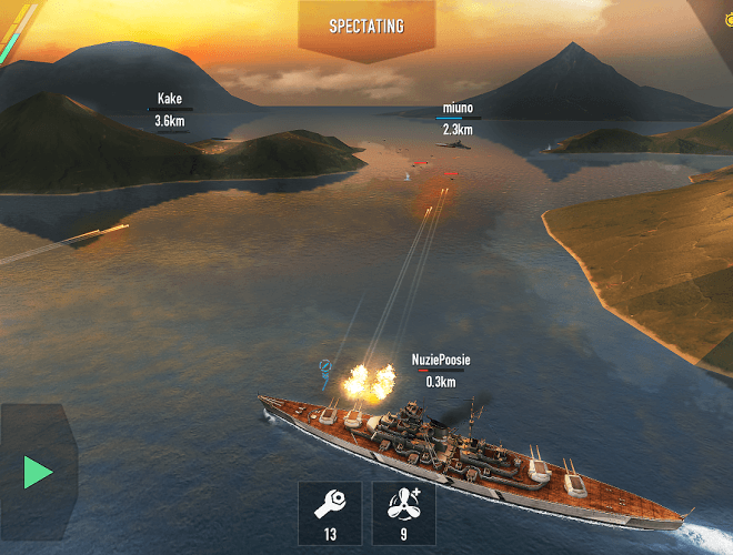 Играй Battle of Warships На ПК 13