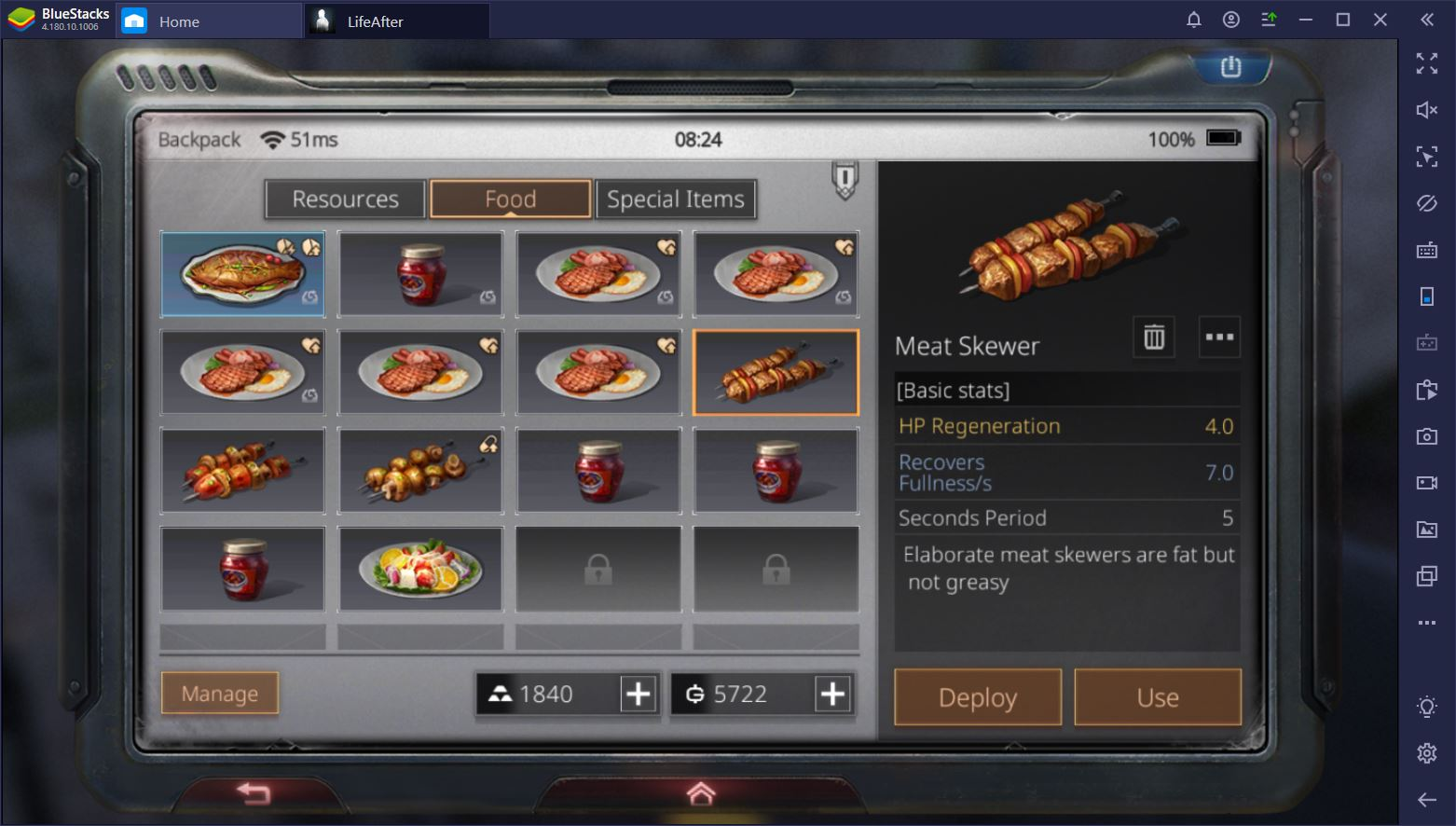 LifeAfter on PC: The Complete Guide to Food