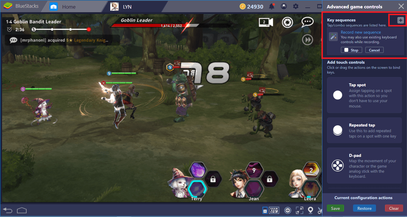 BlueStacks Installation And Configuration Guide For LYN: The Lightbringer