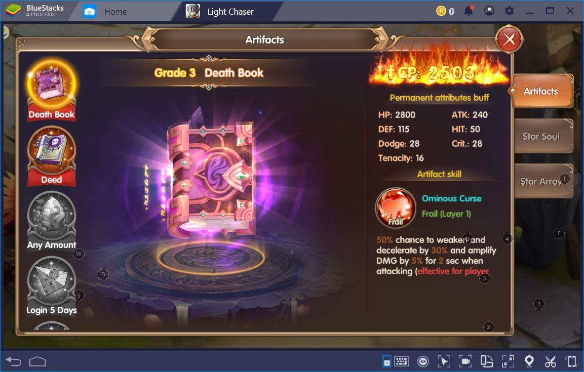Light Chaser: How to Become Overpowered