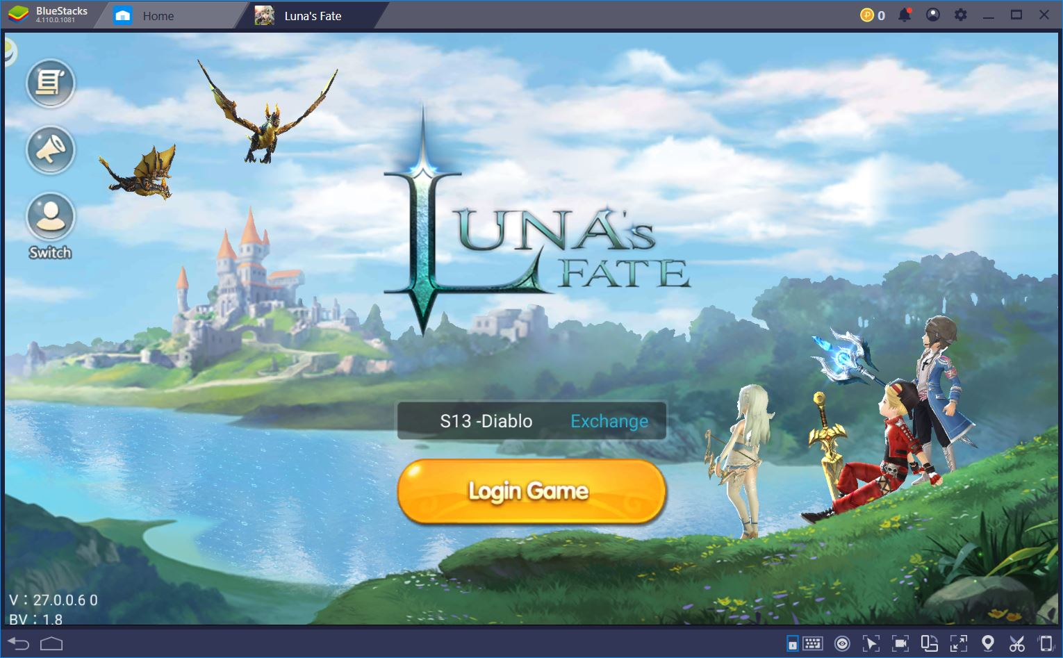 How to Play Luna's Fate on BlueStacks