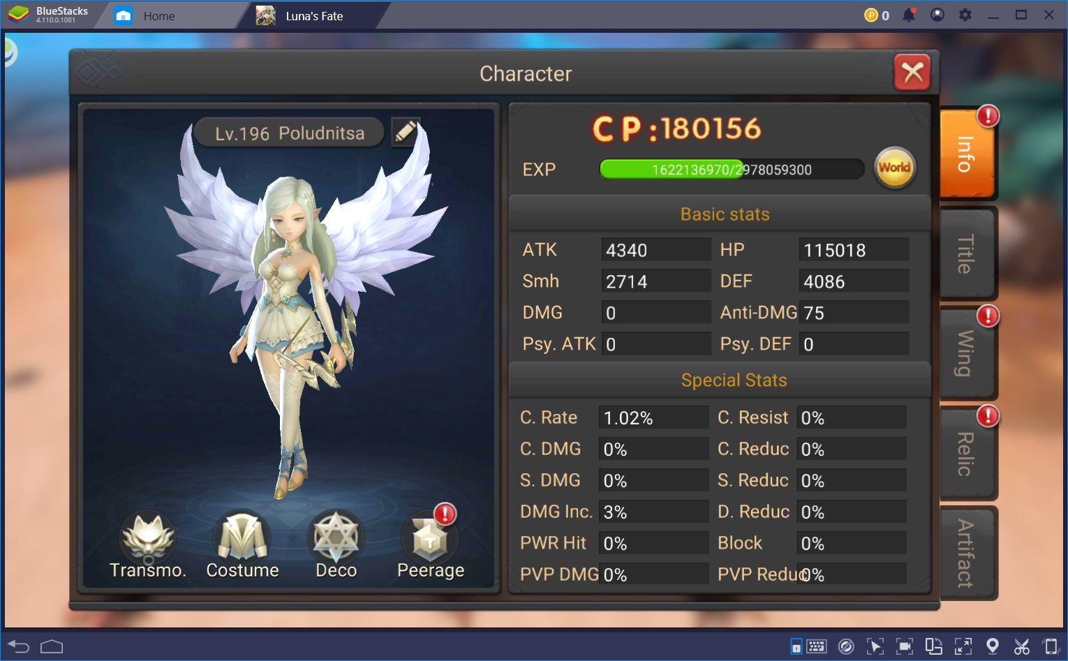 Luna's Fate Game Review: MMORPG vs Idle Gaming