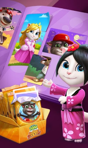 Play Talking Tom Bubble Shooter on PC 4
