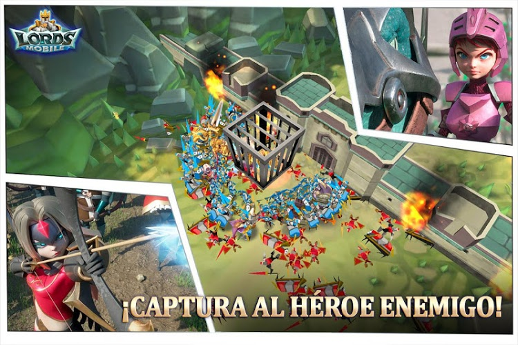 Juega Lords Mobile on PC 5