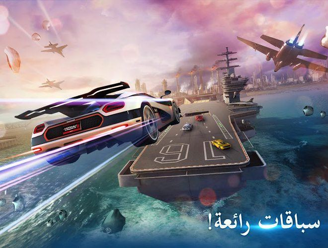 إلعب Asphalt 8: Airborne on PC 5