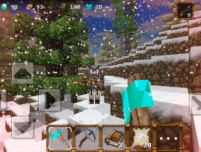Play WinterCraft 3: Mine Build on PC 7