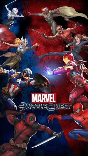 Play Marvel Puzzle Quest on PC 8
