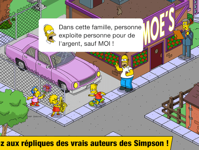 Joue Simpsons Tapped Out on pc 6